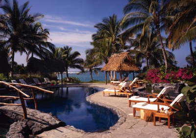 The Bora Bora Pool at the Kona Village Resort