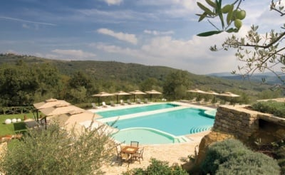 Pool at Le Case del Borgo, Tuscany