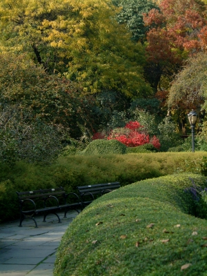 The Conservatory Garden, located in Central Park (Photo purchased from istockphoto.com)