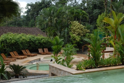 Pools at Tabacon Grand Spa and Thermal Resort