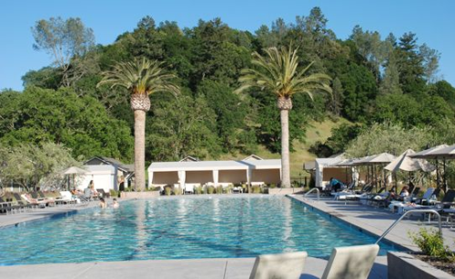Solage Calistoga Pool ~ 10 Best Hotel Pools for Adults