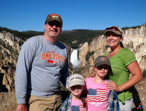Jody Halsted and family on Montana Family Adventure with Austin Lehman Adventures