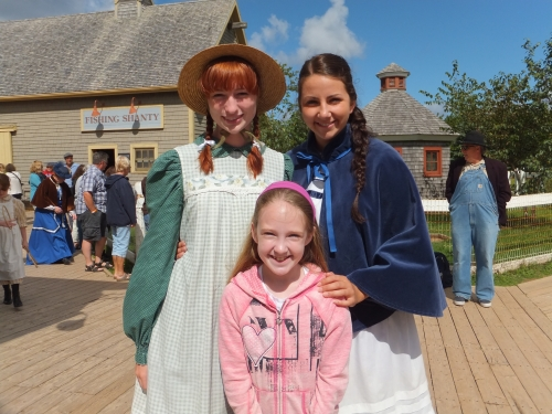 Meeting Anne of Green Gables characters on Prince Edward Island