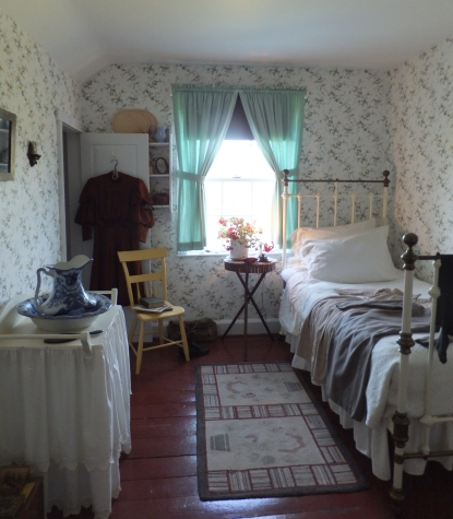 Ann's room at Green Gables Heritage Place