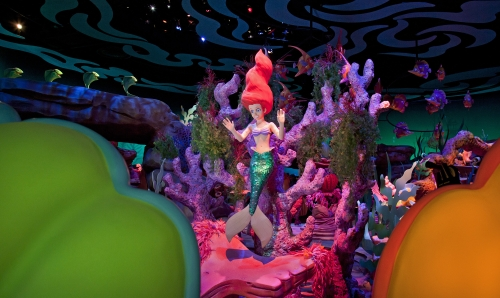The Little Mermaid ~ Ariel's Undersea Adventure Ride