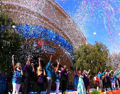 Ariel's Undersea Adventure Opening Ceremony Finale
