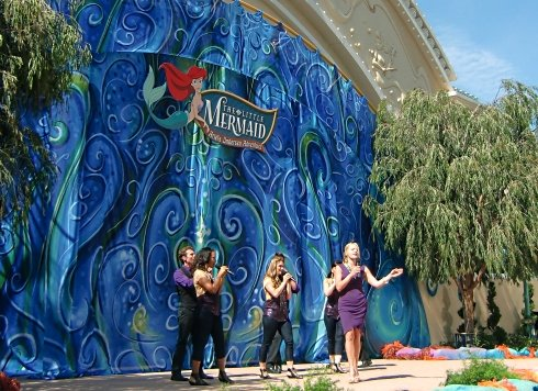 Ariel's Undersea Adventure Opening Ceremony