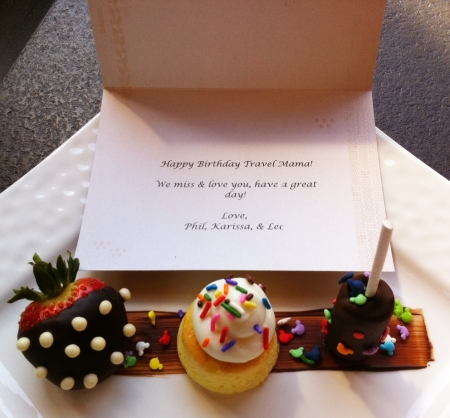 Disney's Aulani Resort Birthday Treats