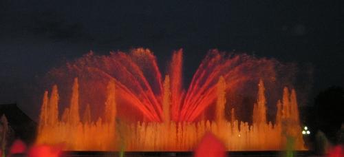 Barcelona's fountain