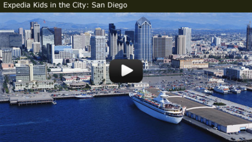 Expedia Kids in the City San Diego video