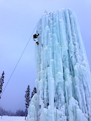 Big Family Fun at Big White Ski Resort - Ice Tower