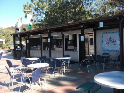 Birch Aquarium's Splash Café