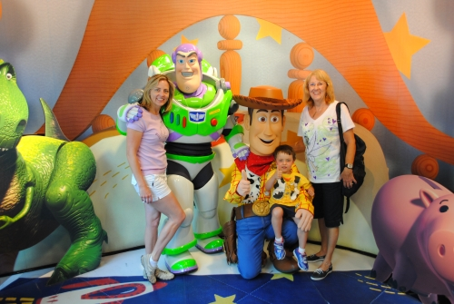 Woody and Buzz Lightyear at Disney's Hollywood Studio