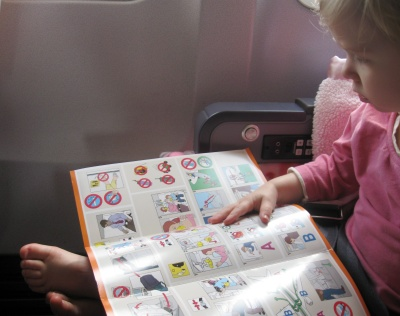 The Bright Side of Flying with Kids