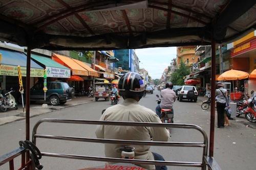 Tuktuk in Phnom Penh, Cambodia