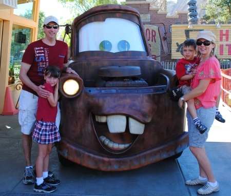 Dos and Don'ts of Cars Land with kids