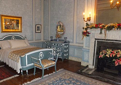 Lady Pellat's bedroom at Casa Loma