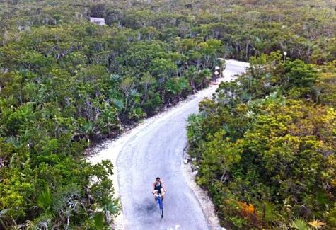 Disney's Castaway Cay bike path