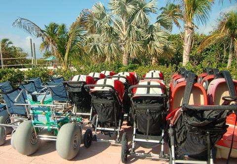 Disney's Castaway Cay strollers