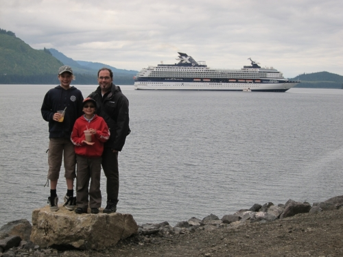 Alaskan Celebrity Cruise with kids