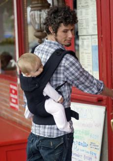 Baby carrier for men