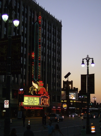Detroit with Kids: Fox Theater