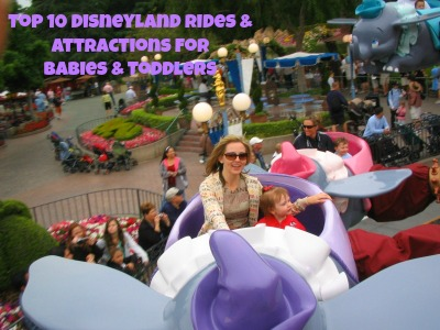 10 Best Disneyland Rides and Attractions for Babies and Toddlers