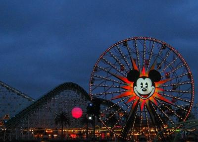 Mickey's Fun Wheel Disney's California Adventure