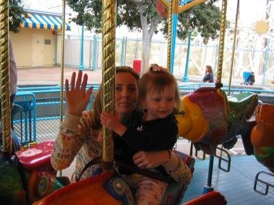 King Triton Carousel Disneyland