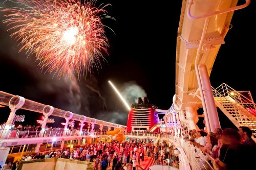 Disney Dream Ship Fireworks