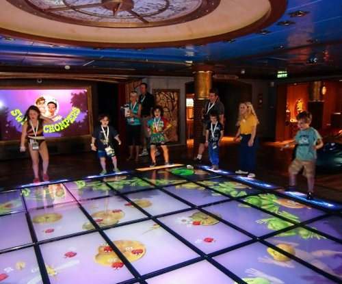 Magic Play Floor Disney Dream Oceaneer Lab With Babies Toddlers And Children