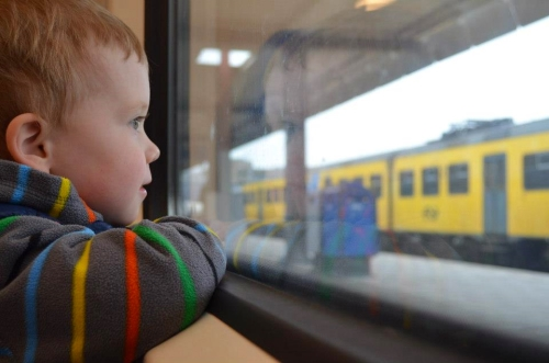 Tips for Expats and Soon-to-Be Expats - our new favorite mode of transportation, the train!