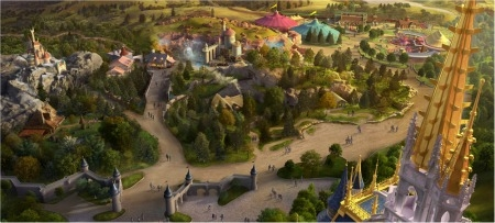 New Fantasy Land at Disney World
