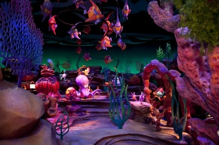 Under the Sea Journey of the Little Mermaid ride