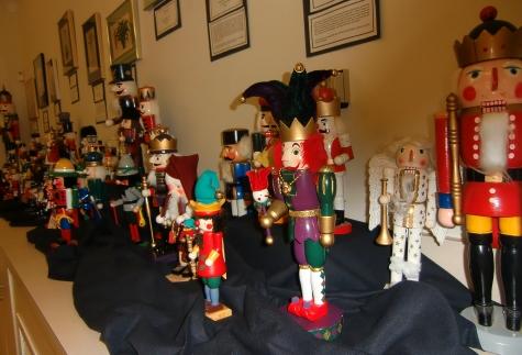 Nutcracker Collection at San Diego Botanic Garden Christmas event