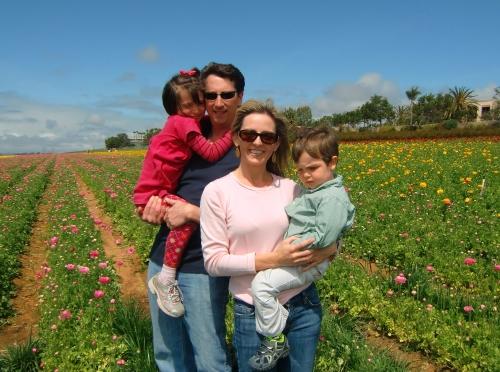 Carlsbad Flower Fields with Kids