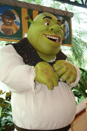 Meet Shrek at Gaylord Palms