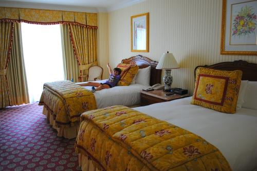 Grand America Hotel room