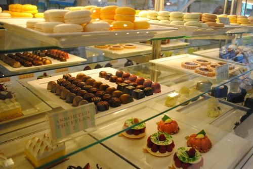 Bonne Vie candy store and patisserie at the Grand Hotel