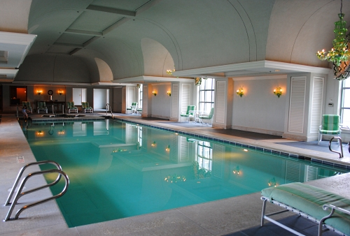 Grand America Hotel indoor swimming pool