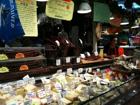 Oyama Sausage Company at Granville Island's Public Market