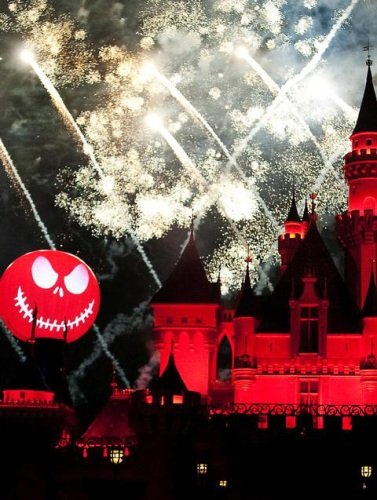 Halloween Screams Fireworks Show - Halloween at Disneyland