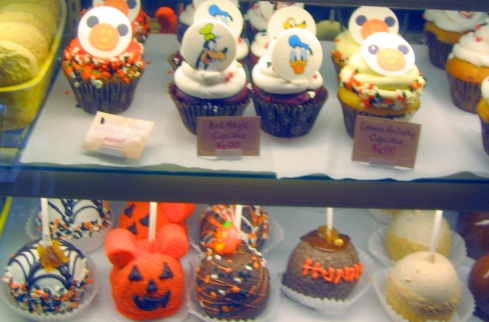 Halloween goodies at Disneyland - Halloween at Disneyland