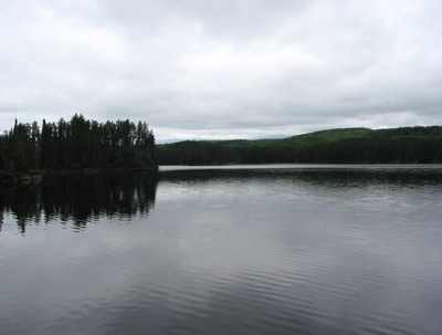 A typical Boundary Waters scene