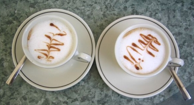 Picture-perfect cappuccinos in Lerici, Italy