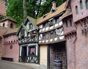 English Village at the Enchanted Forest Theme Park in Salem, Oregon