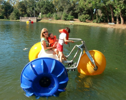 Irvine Regional Park Paddle Boat
