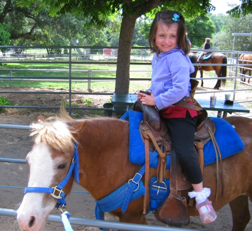 Pony Ride at Irvine Regional Park
