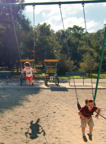 Playground at Irvine Regional Park