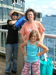 patty opioen with her kids in seattle